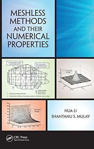 MeshlessMethods and Their Numerical Properties (Hardback): Hua Li, Shantanu