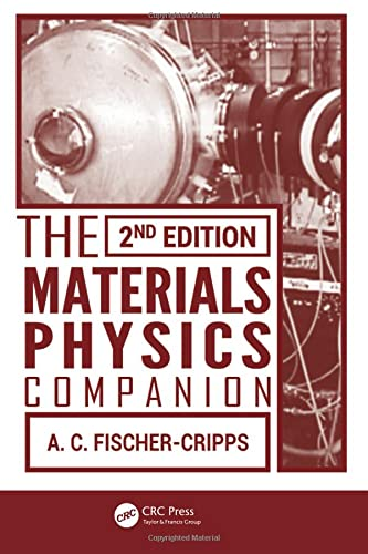 9781466517820: The Materials Physics Companion, 2nd Edition (Volume 3)