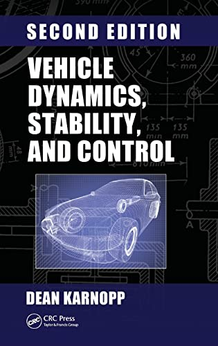 9781466560857: Vehicle Dynamics, Stability, and Control, Second Edition (Mechanical Engineering)