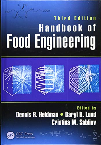 9781466563124: Handbook of Food Engineering, Third Edition