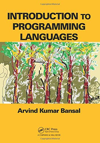 9781466565142: Introduction to Programming Languages