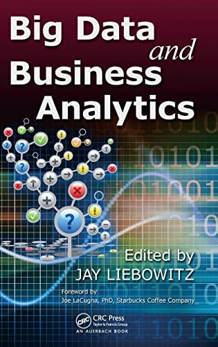 9781466565784: Big Data and Business Analytics