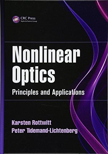 9781466565821: Nonlinear Optics: Principles and Applications (Optical Sciences and Applications of Light)