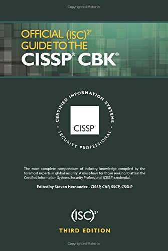 Download official (isc)2 guide to the cissp cbk third edition.