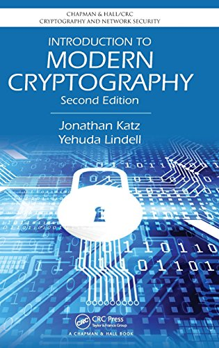 Introduction to Modern Cryptography, Second Edition (Chapman & Hall/CRC Cryptography and Network Security Series) (1466570261) by Jonathan Katz; Yehuda Lindell