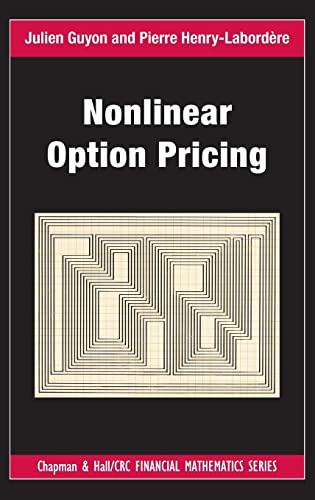 9781466570337: Nonlinear Option Pricing (Chapman and Hall/CRC Financial Mathematics Series)