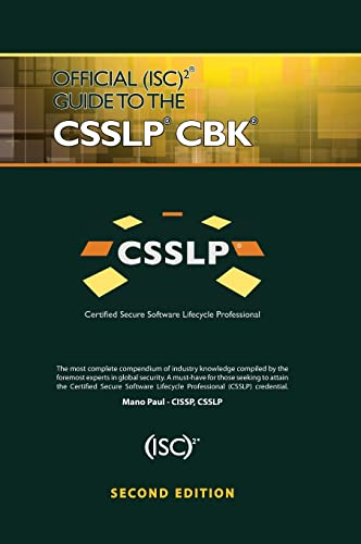 9781466571273: Official (ISC)2 Guide to the CSSLP CBK ((ISC)2 Press)