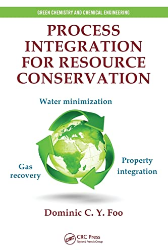 9781466573321: Process Integration for Resource Conservation (Green Chemistry and Chemical Engineering)