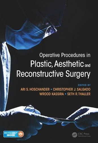 Operative Procedures In Plastic Aesthetic And Reconstructive: Hoschander A S