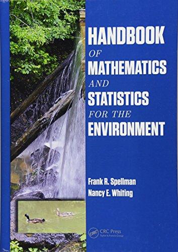 9781466586376: Handbook of Mathematics and Statistics for the Environment