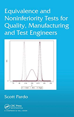 9781466586888: Equivalence and Noninferiority Tests for Quality, Manufacturing and Test Engineers