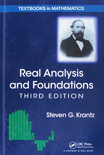 9781466587311: Real Analysis and Foundations, Third Edition (Textbooks in Mathematics)