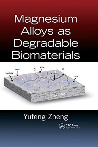 9781466598041: Magnesium Alloys as Degradable Biomaterials