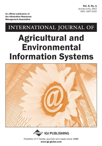 9781466610651: International Journal of Agricultural and Environmental Information Systems (Vol. 3, No. 1)