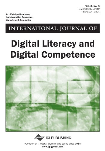 9781466611696: International Journal of Digital Literacy and Digital Competence, Vol 3, No 3