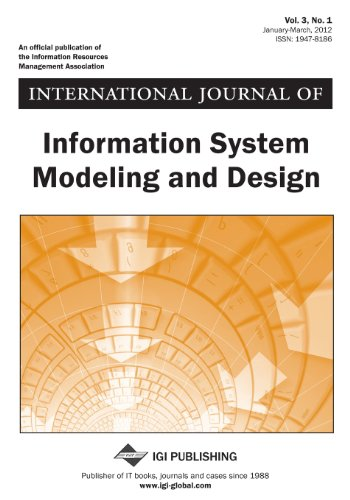 9781466612693: International Journal of Information System Modeling and Design (Vol. 3, No. 1)