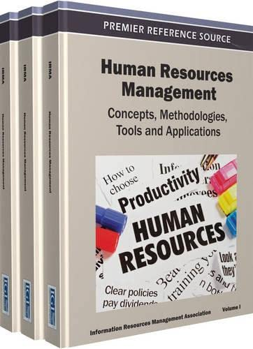 Human Resources Management: Concepts, Methodologies, Tools, and