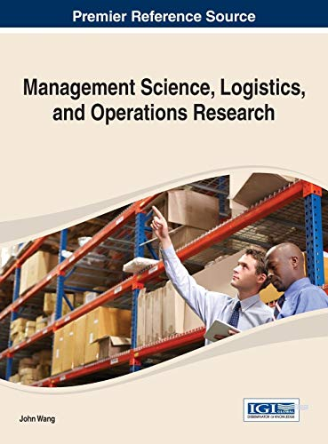 9781466645066: Management Science, Logistics, and Operations Research