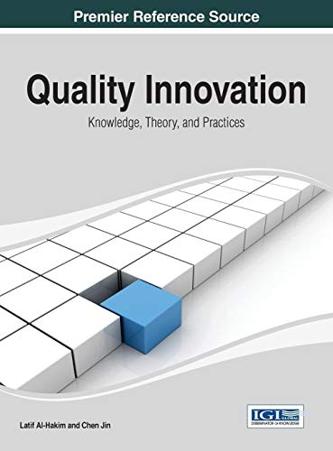 Quality Innovation: Knowledge, Theory, and Practices (Hardback)