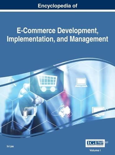 9781466697874: Encyclopedia of E-Commerce Development, Implementation, and Management