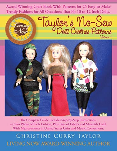 9781466933262: Taylor's No-Sew Doll Clothes Patterns: Volume 1