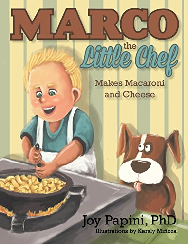 9781466975095: Marco the Little Chef: Makes Macaroni and Cheese