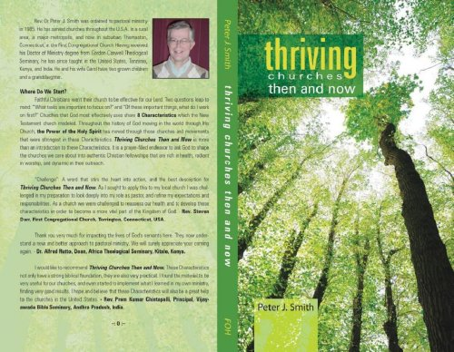 Thriving Churches Then and Now (Print Version) (9781467563017) by Peter J. Smith