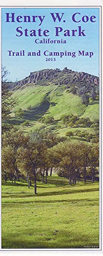 9781467579964: Henry W. Coe State Park - California; Trail and Camping Map