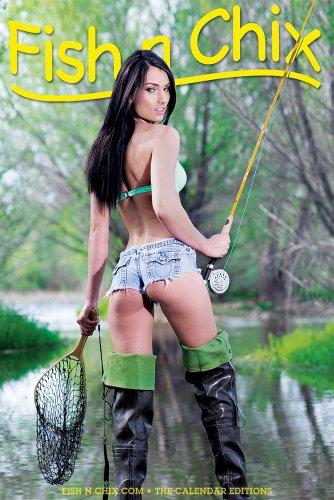 9781467583916: Fish N Chix Poster 2014 (Fly Fishing Girl)