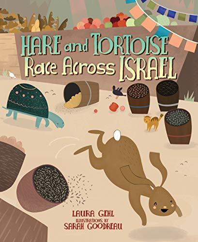 9781467738194: Hare and Tortoise Race Across Israel