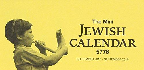 9781467781183: The Mini Jewish Calendar 5776 September 2015-September 2016 Checkbook-Sized