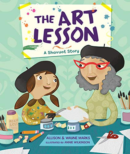 9781467781725: The Art Lesson: A Shavuot Story