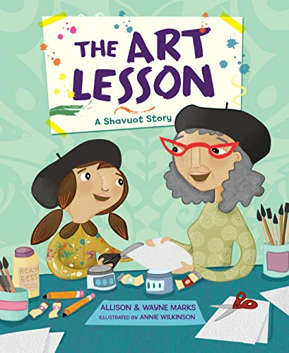 9781467781732: The Art Lesson; A Shavuot Story