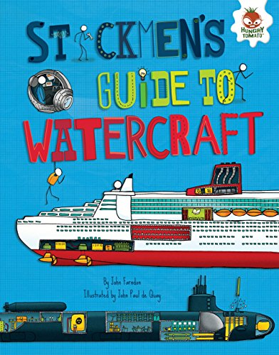 9781467793629: Stickmen's Guide to Watercraft (Stickmen's Guides to How Everything Works)