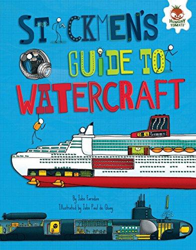 Stickmen's Guide to Watercraft (Library Binding): Chris Oxlade
