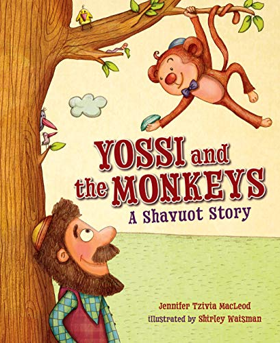 9781467794213: Yossi and the Monkeys: A Shavuot Story