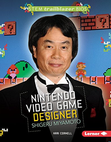 9781467795319: Nintendo Video Game Designer Shigeru Miyamoto (Stem Trailblazer Bios)