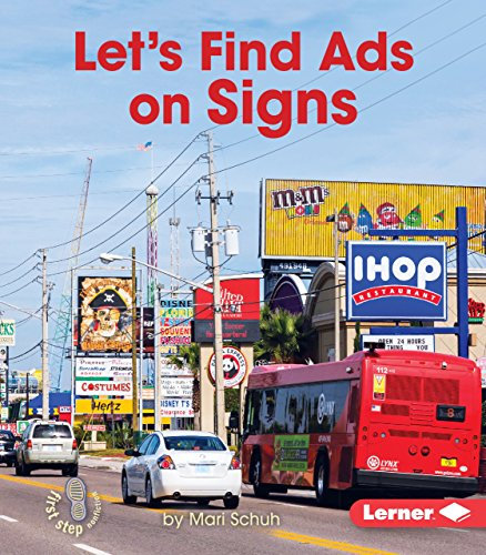 9781467796590: Let's Find Ads on Signs (First Step Nonfiction - Learn about Advertising)