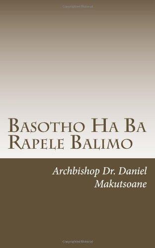 9781467918954: Basotho Ha Ba Rapele Balimo (Southern Sotho Edition)