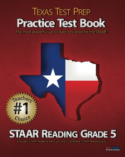 9781467930291: TEXAS TEST PREP Practice Test Book STAAR Reading Grade 5: Aligned to the 2011-2012 STAAR Reading Test