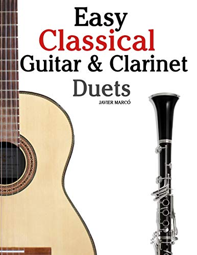 9781467948784: Easy Classical Guitar & Clarinet Duets