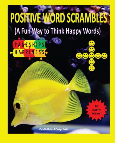 9781467951982: Positive Word Scrambles (A Fun Way to Think Happy Words)