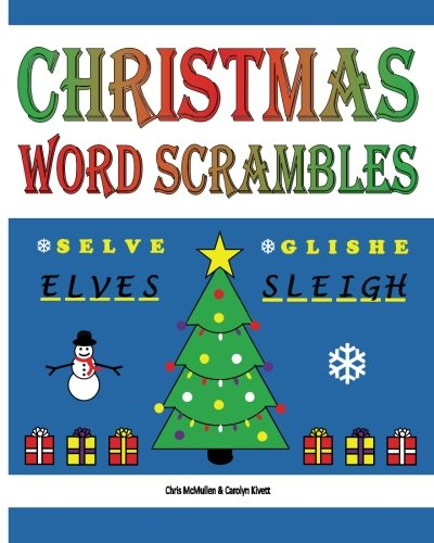 9781467970723: Christmas Word Scrambles: Puzzles for the Holidays