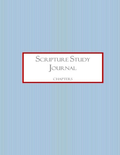 9781467991803: Scripture Study Journal: Chapters