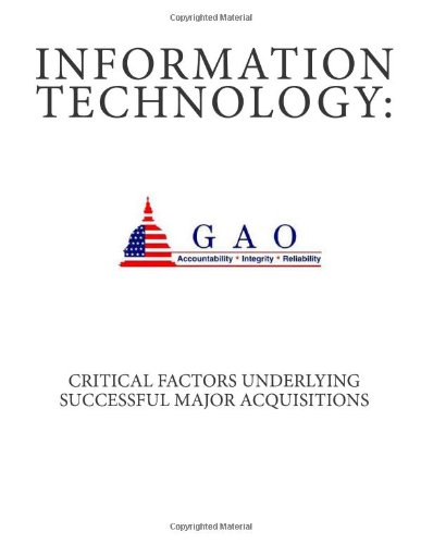9781468003314: Information Technology:: Critical Factors Underlying Successful Major Acquisitions
