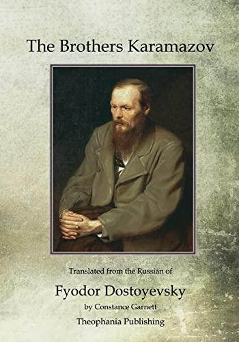 9781468023961: The Brothers Karamazov