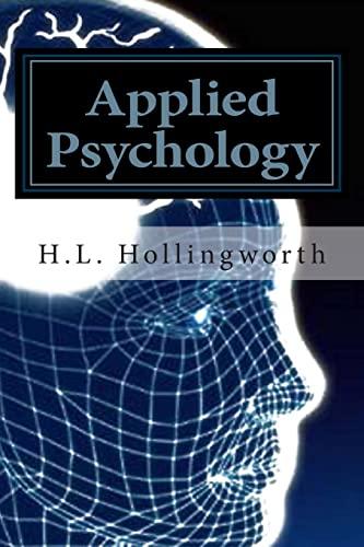 9781468029338: Applied Psychology