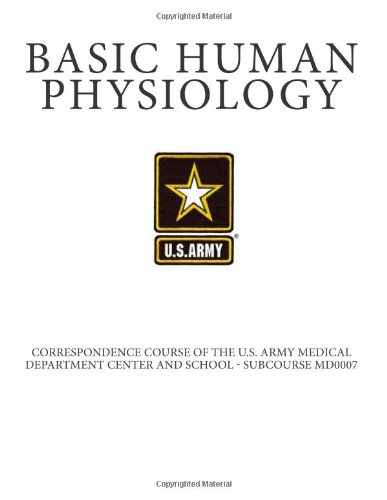 9781468037517: Basic Human Physiology: Correspondence Course of the U.S. Army Medical Department Center and School - Subcourse MD0007