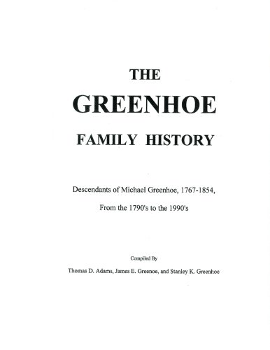 9781468052718: The Greenhoe Family History
