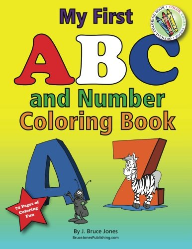 9781468054569: My First ABC and Number Coloring Book